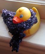 selma has a scarf